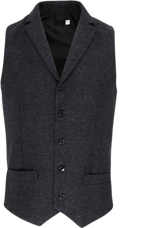 Premier Men's herringbone waistcoat