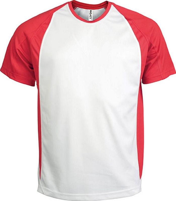 PROACT® Tweekleurig sport-t-shirt unisex