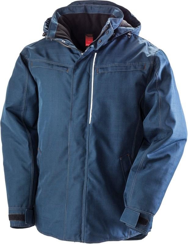 Result Denim texture rugged jacket