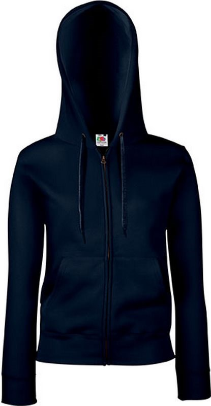 Fruit of the Loom Lady-fit Premium Hooded Sweat Jacket (62-118-0)
