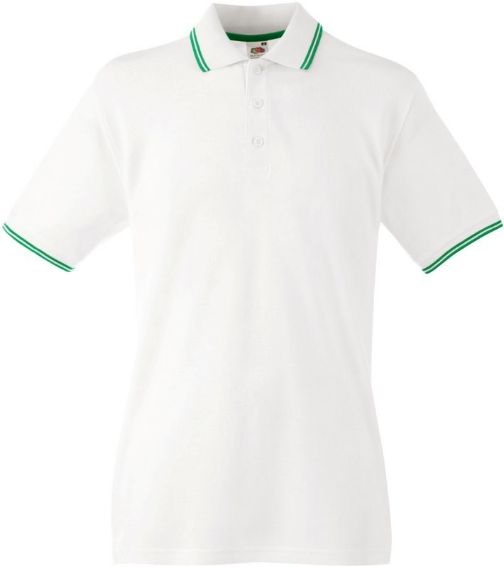 Fruit of the Loom Premium Tipped Polo shirt (63-032-0)