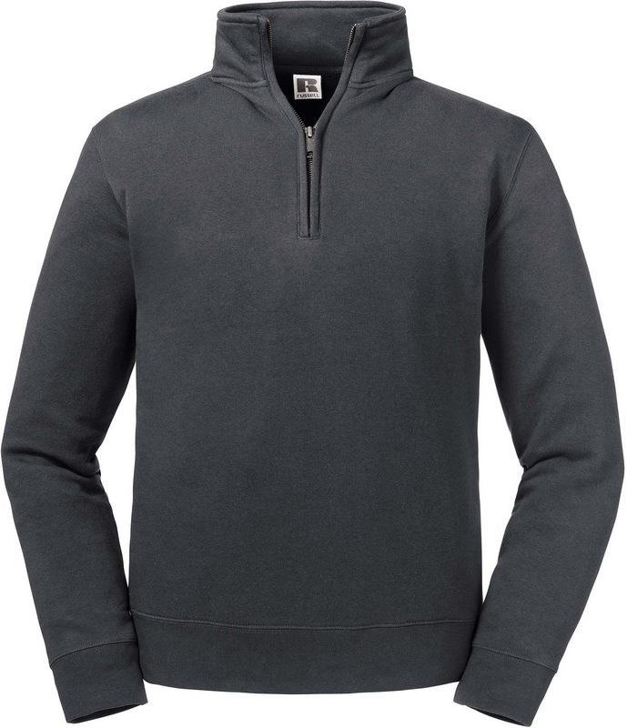 Russell Sweater met ritskraag Authentic