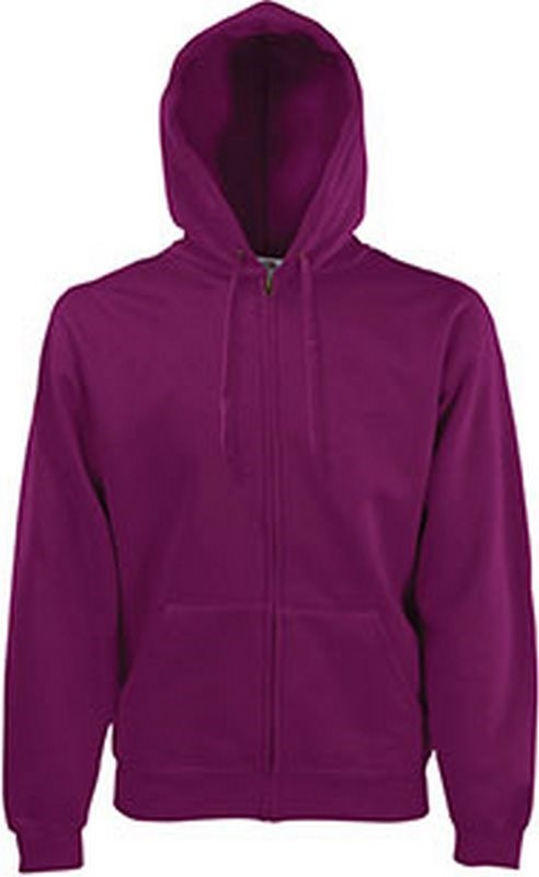 Fruit of the Loom Classic Hooded Sweat Jacket (62-062-0)