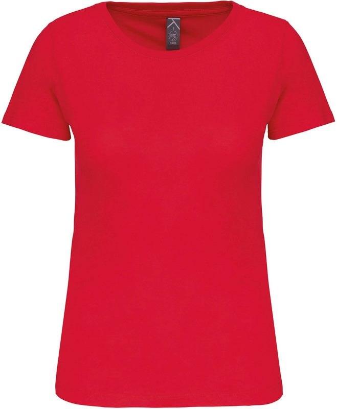 Kariban Dames-t-shirt BIO150 ronde hals