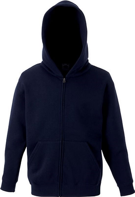 Fruit of the Loom Kids Classic Hooded Sweat Jacket (62-045-0)