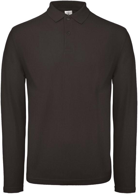 B&C ID.001 Men's long-sleeve polo shirt
