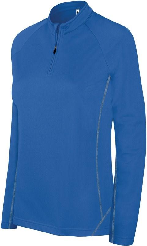 PROACT® Damesrunningsweater Met Halsrits