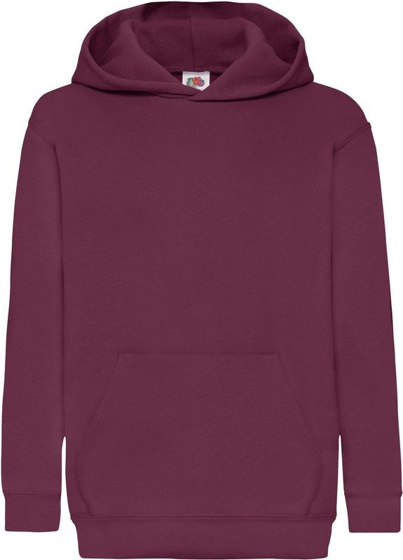 Fruit of the Loom Kids Classic Hooded Sweat (62-043-0)