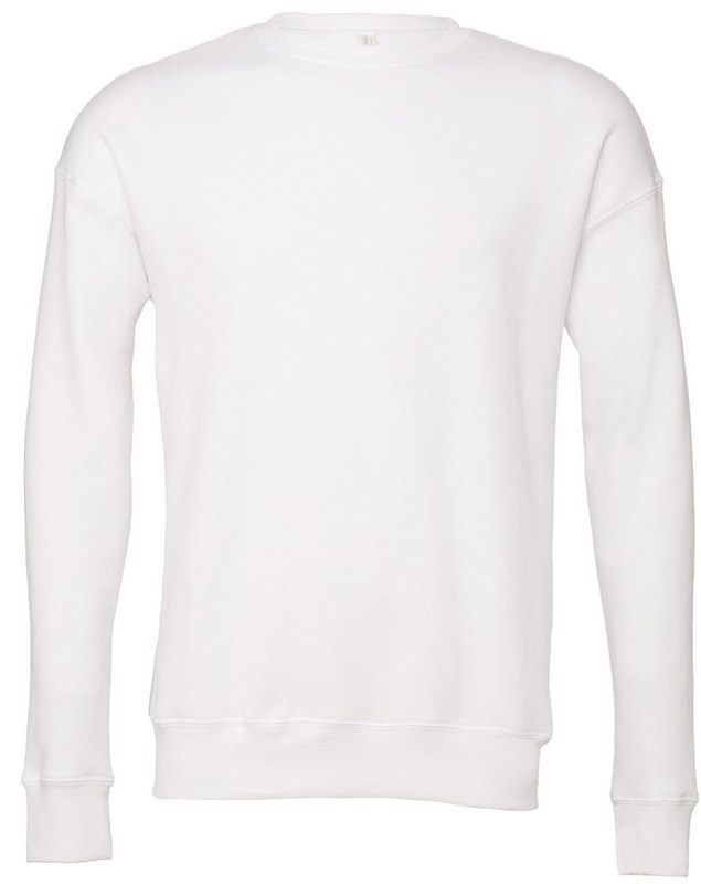 Bella + Canvas Sweater ronde hals