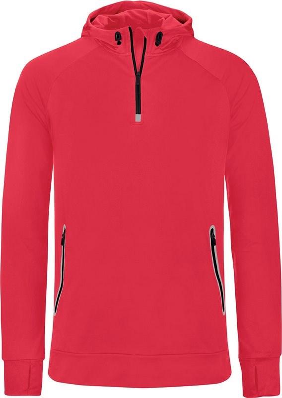 PROACT® Unisex sportsweater Met Capuchon En Halsrits