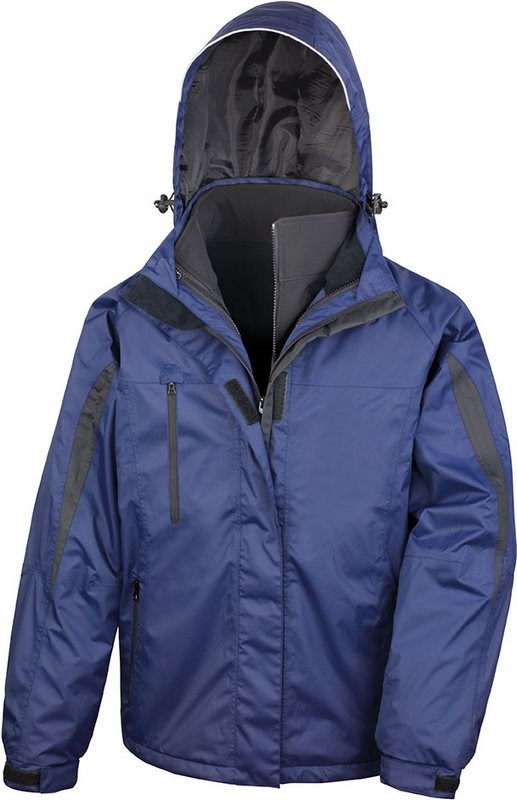 Result Mens 3-in-1 Journey Jacket with Soft Shell Inner