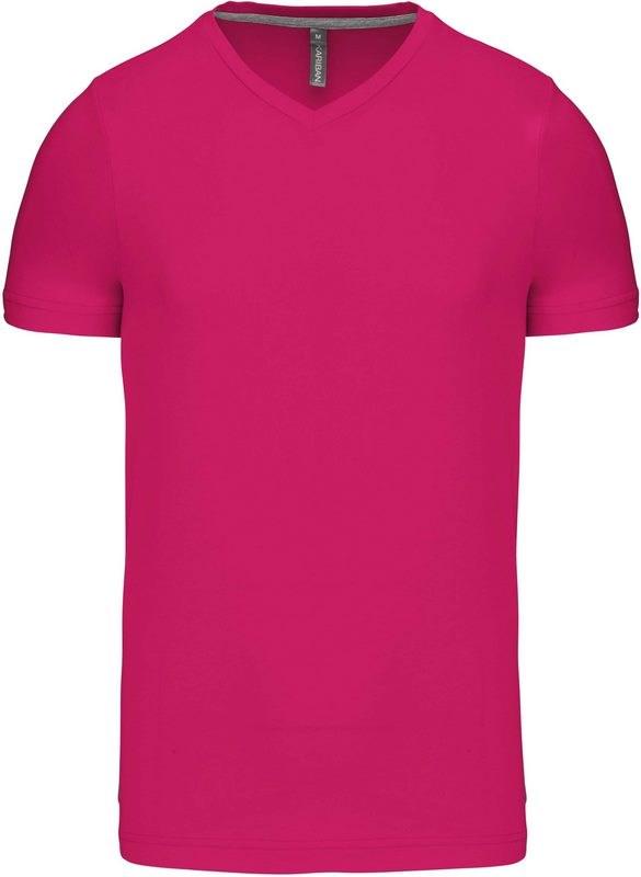 Kariban T-shirt V-hals korte mouwen