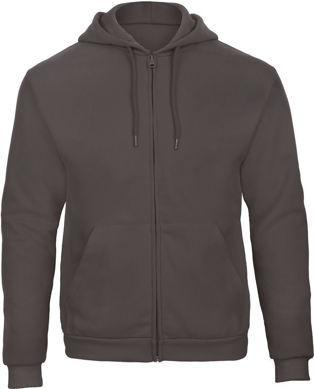 B&C ID.205 Hooded Full Zip Sweatshirt