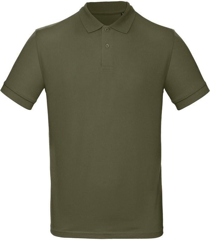 B&C Men's organic polo shirt