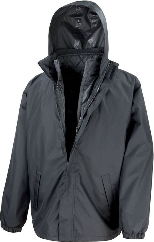 Result 3-in-1 Jacket With Quilted Bodywarmer