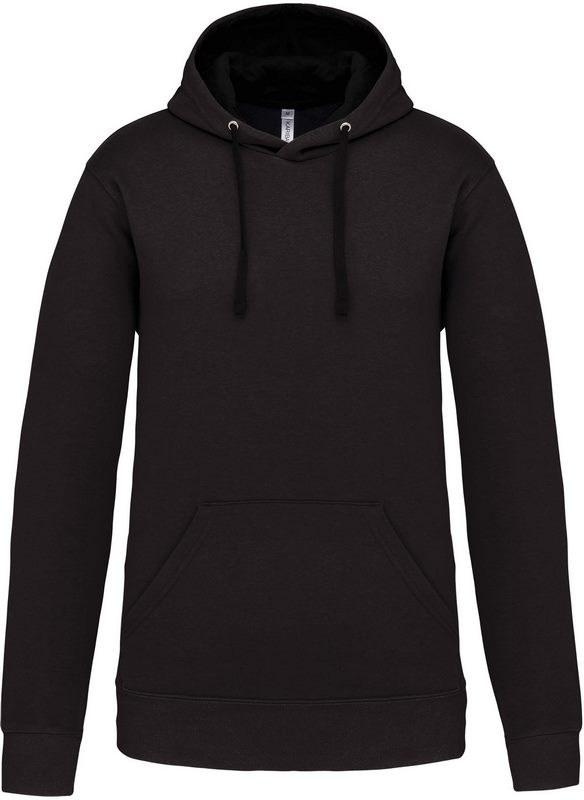 Kariban Hooded sweater met gecontrasteerde capuchon