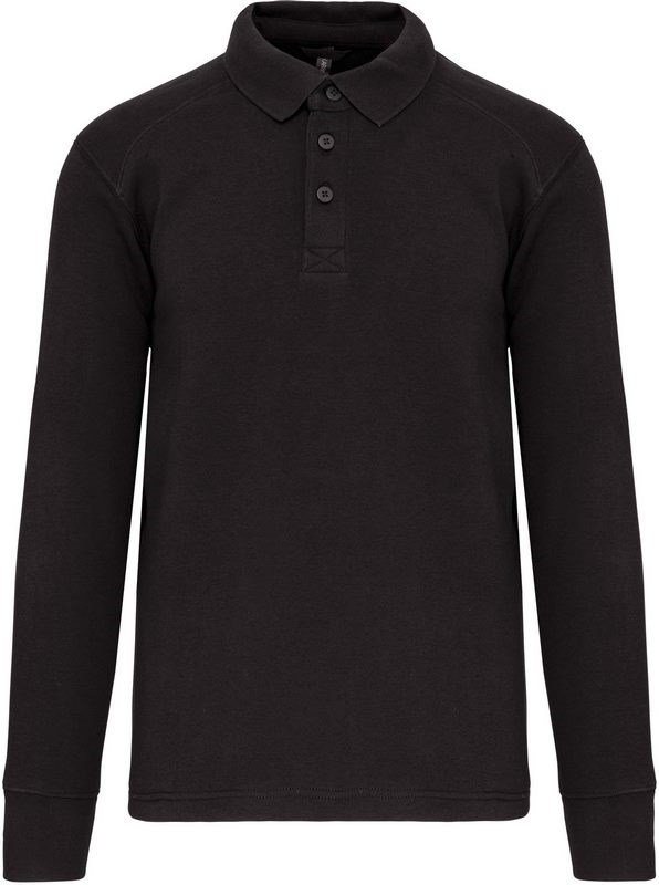 WK. Designed To Work Sweater met polokraag