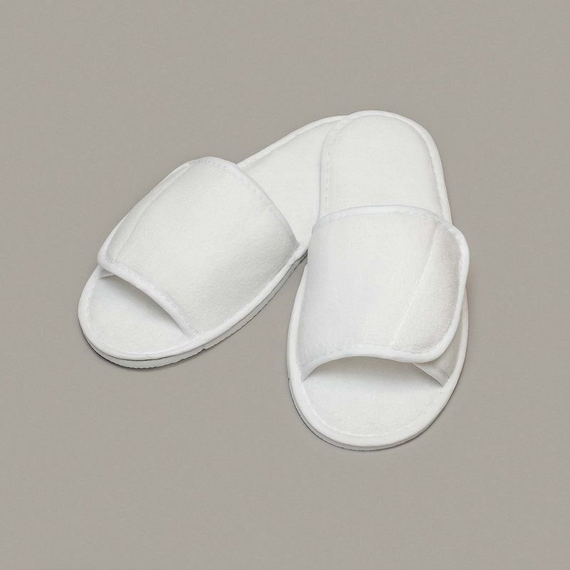 Towel City Open Toe Slippers