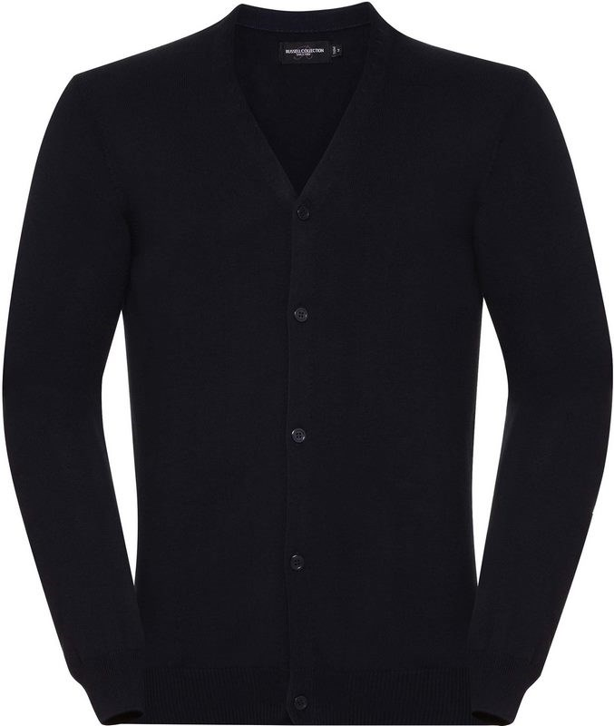 Russell Men's V-Neck Knitted Cardigan