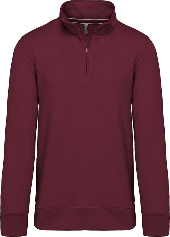 Kariban Sweater met ritshals
