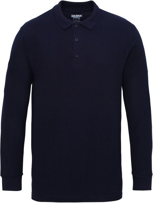 Gildan Premium Cotton® Adult Long Sleeve Double Piqué Polo