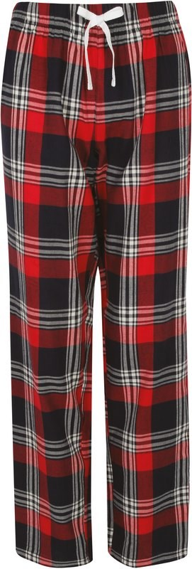 Skinni Fit Women's tartan lounge trousers