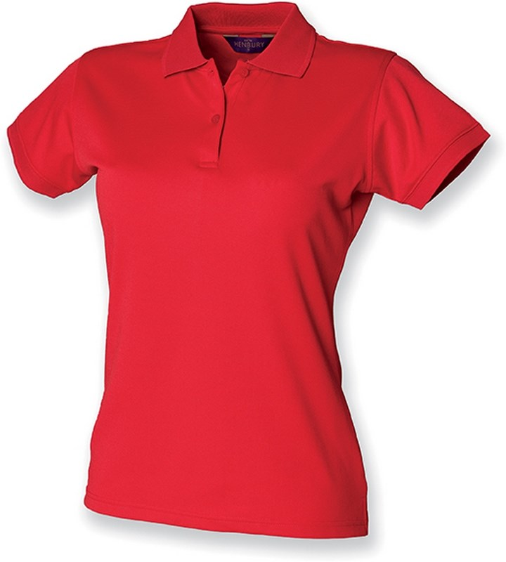 Henbury Ladies Coolplus® Polo Shirt