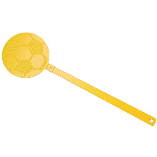 """Bild Fliegenklatsche """"Fußball"""", gelb/gelb"""