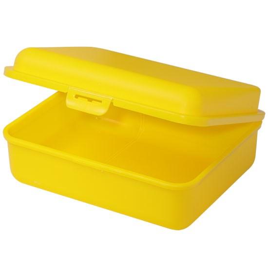 Bild Brotdose, groß, gelb