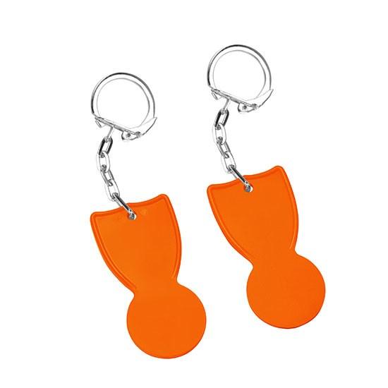 Bild 1€-Chip, orange