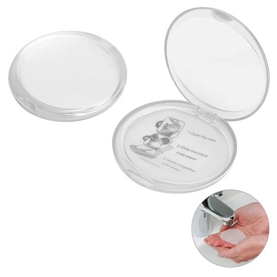 Bild Seifendose, gefrostet glasklar
