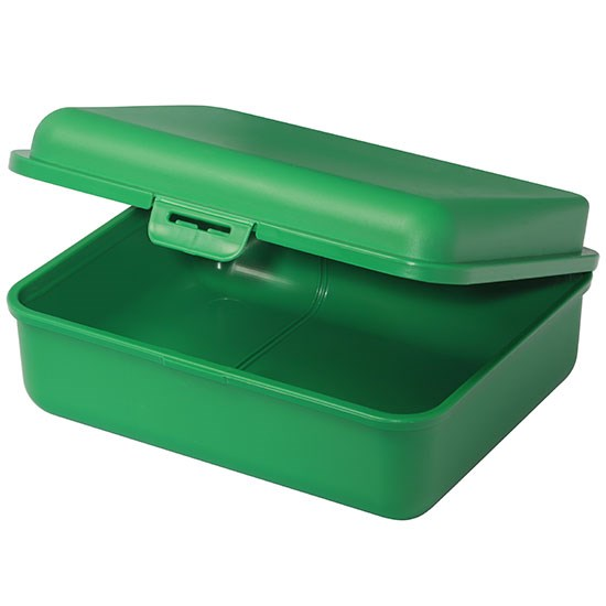 Bild Brotdose, groß, grün