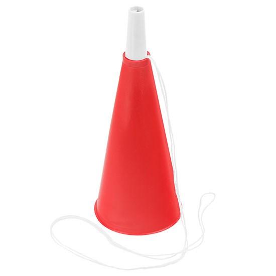 Bild Fan-Horn, rot/weiß