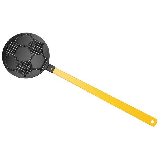 """Bild Fliegenklatsche """"Fußball"""", gelb/schwarz"""