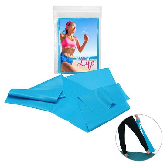 Bild Gymnastik- und Fitnessband, blau