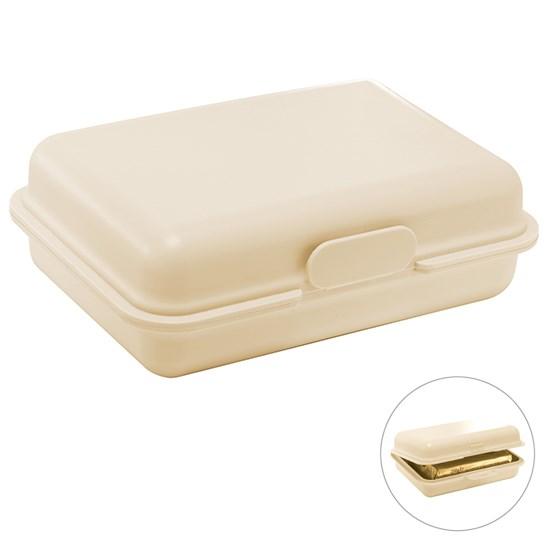 Bild Bio Brotdose/Bio Butterdose, beige