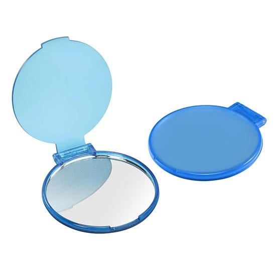 Bild Taschenspiegel, blau-transparent