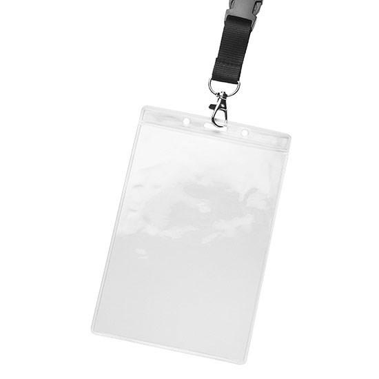 Bild Kartenhalter, ca. 114 x 176 x 1 mm, glasklar