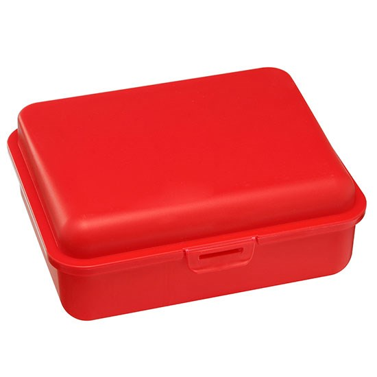 Bild Brotdose, groß, rot