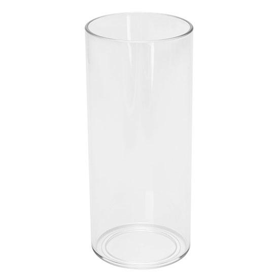 Bild Kunststoff-Longdrinkglas, glasklar