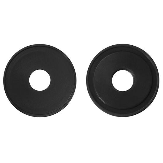 Bild 1€-Chip, schwarz
