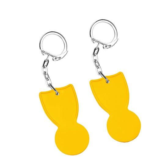 Bild 1€-Chip, gelb