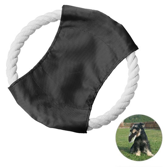 Bild Hunde-Flugscheibe, schwarz/weiß