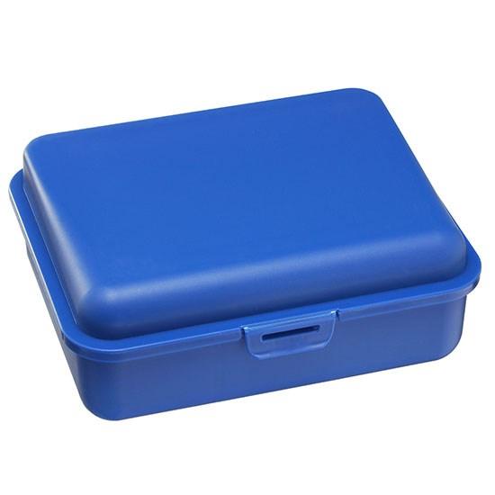 Bild Brotdose, groß, blau