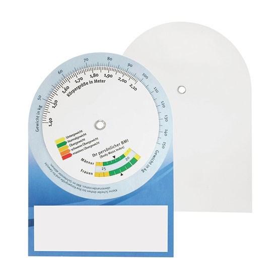 Bild BMI-Rechner, weiß