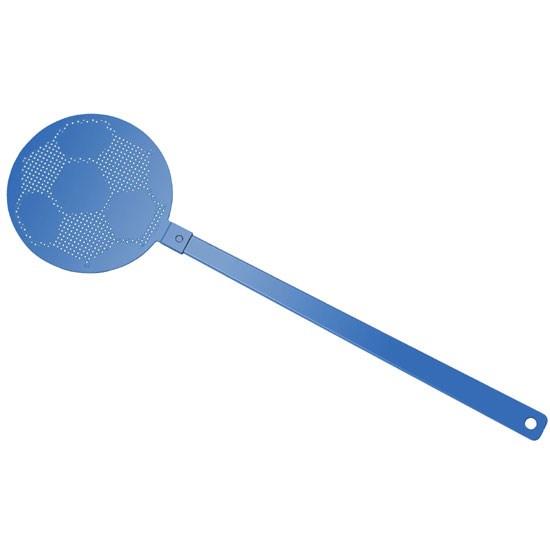 """Bild Fliegenklatsche """"Fußball"""", blau/blau"""