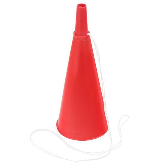 Bild Fan-Horn, rot/rot