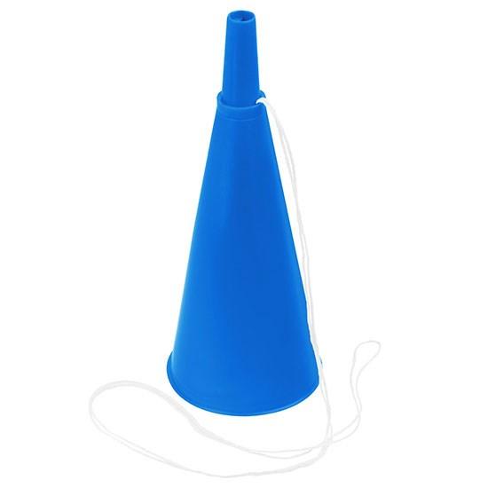 Bild Fan-Horn, blau/blau