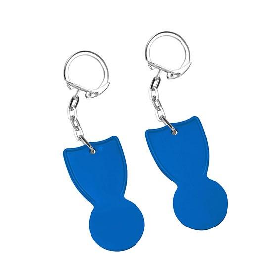 Bild 1€-Chip, blau