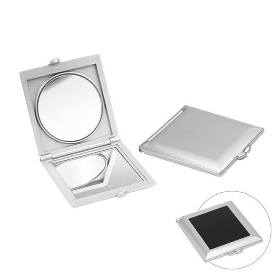 Bild Taschenspiegel, silber/schwarz